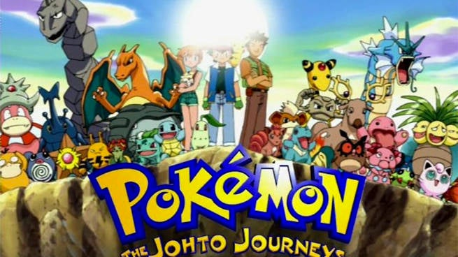 johto journeys pokemon