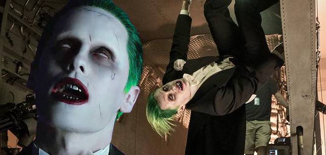 The Joker Is Upside Down In New Suicide Squad Photo