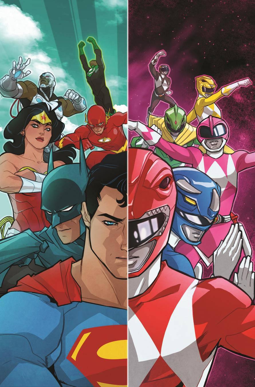 Justice League Power Rangers Comic Book 2017