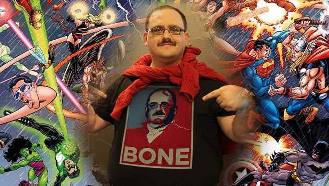 Ken Bone Marvel DC