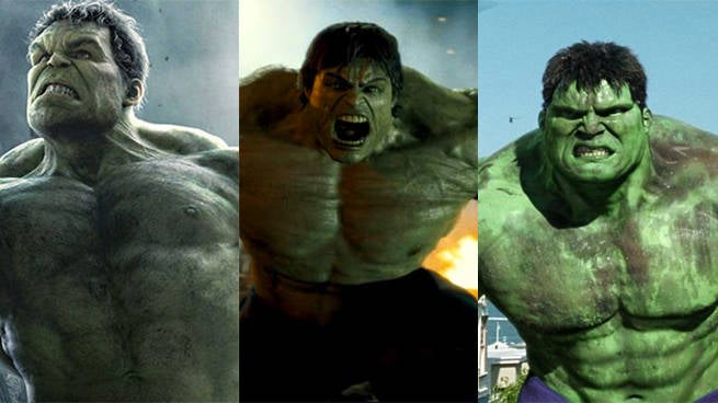live action incredible hulk