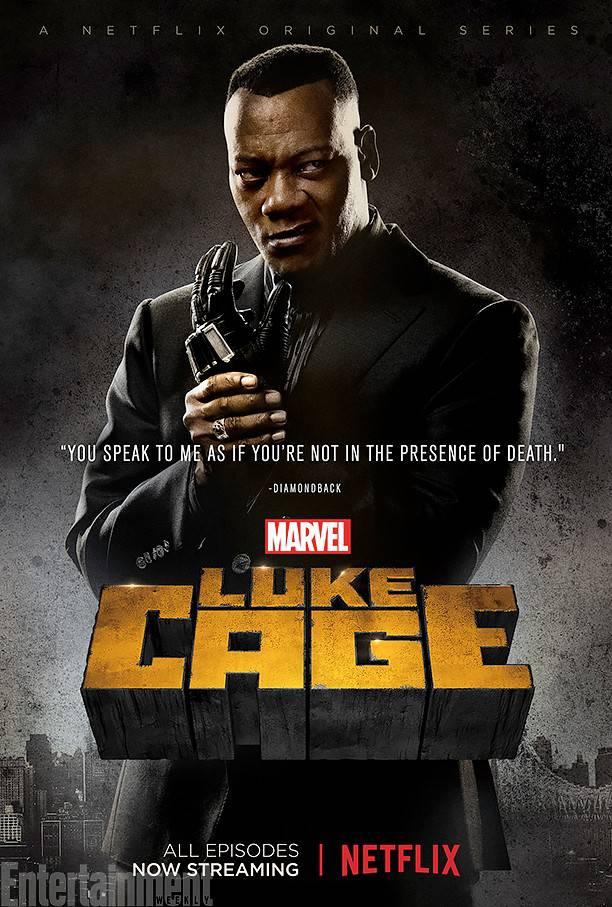 Luke Cage Netflix Posters - Diamondback (Erik LaRay Harvey)