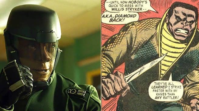 Luke Cage Netflix Series - Diamondback in Armor