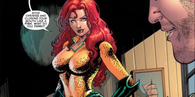 Mera DC rebirth Costume