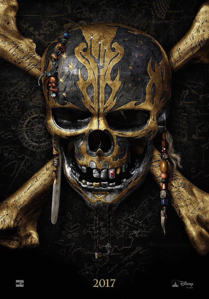 Pirates of the Caribbean: Dead Men Tell No Tales movie poster image