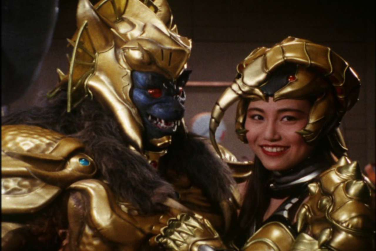 Image result for goldar and scorpina