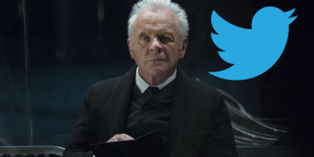 Sir Anthony Hopkins on Twitter