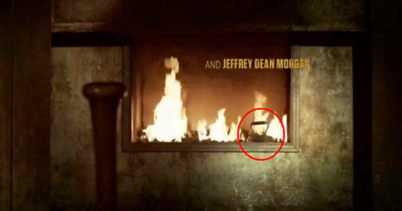 The Walking Dead Negan Torture Easter Egg In Opening Credits