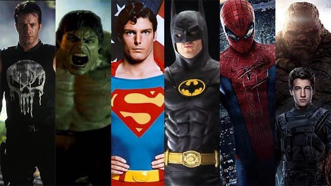 superhero reboots