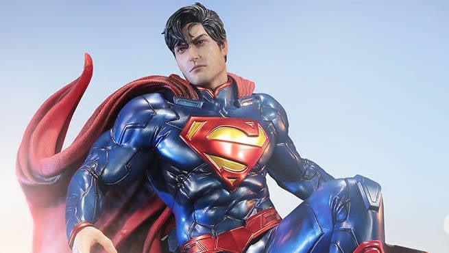 Superman Prime 1 Studios Statue Header