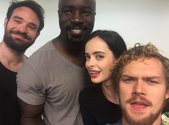 The Defenders Cast NYCC