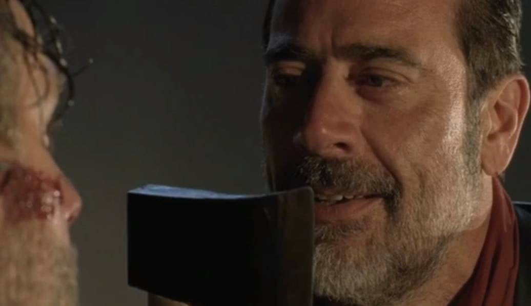 twd negan hatchet