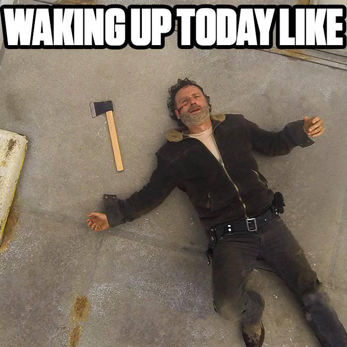 25 Best Memes About The Walking Dead Negan The Walking Dead
