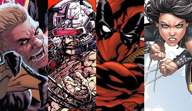 Weapon X characters