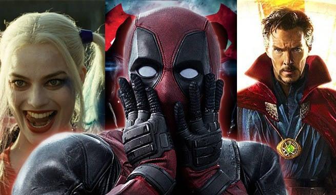 2016 Comic Book Movies