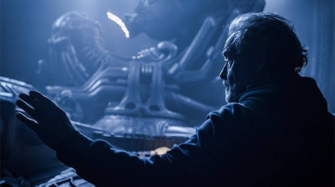 Alien Covenant Ridley Scott Birthday Photo