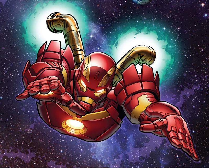 Avengers Infinity War Costumes - Iron Man Space Armor
