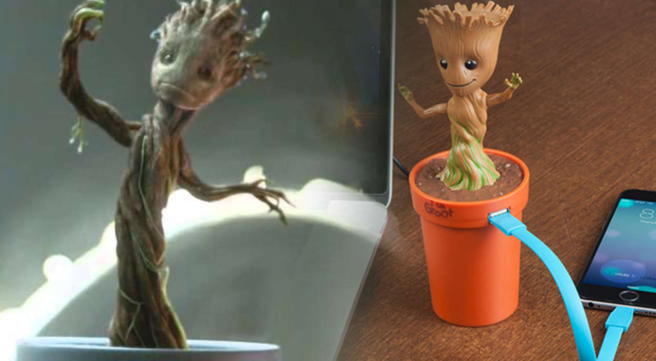 Every Car Needs This Dancing Groot Charger