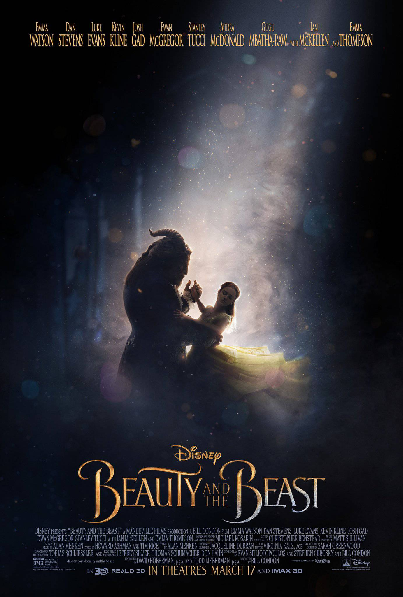 Beauty and the Beast (2017) Official Poster