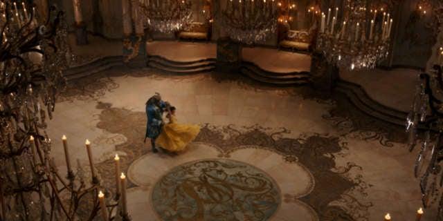 Beauty and the Beast - Dance Scene