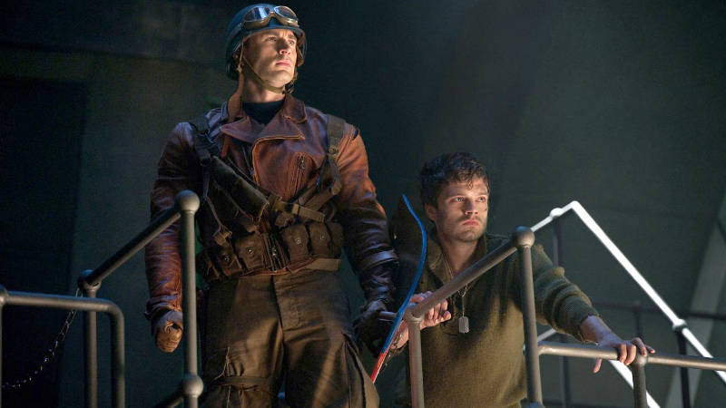 Best Marvel Cinematic Universe Movies - Captain America The First Avenger