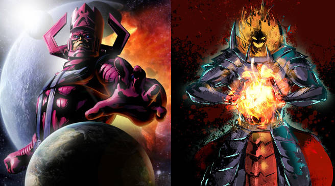Dormammu is Galactus in Marvel Cinematic Universe (Galactus by Shangraf DeviantARt)