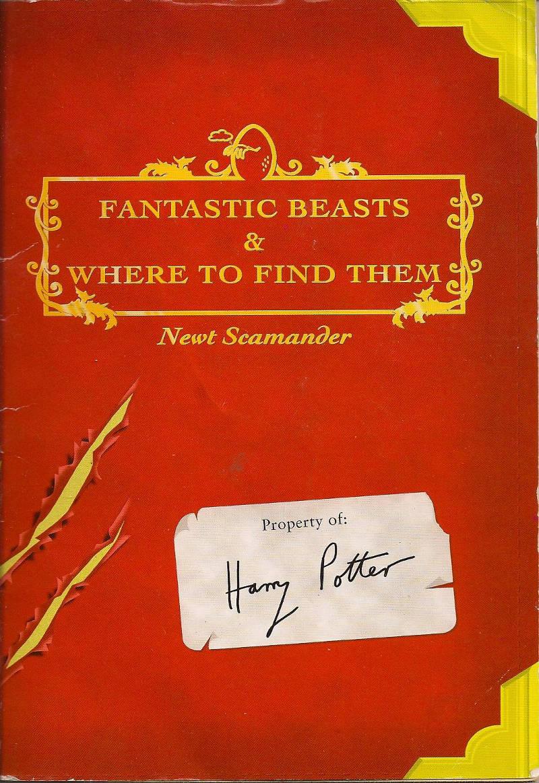 Fantastic Beasts Textbook Harry Potter