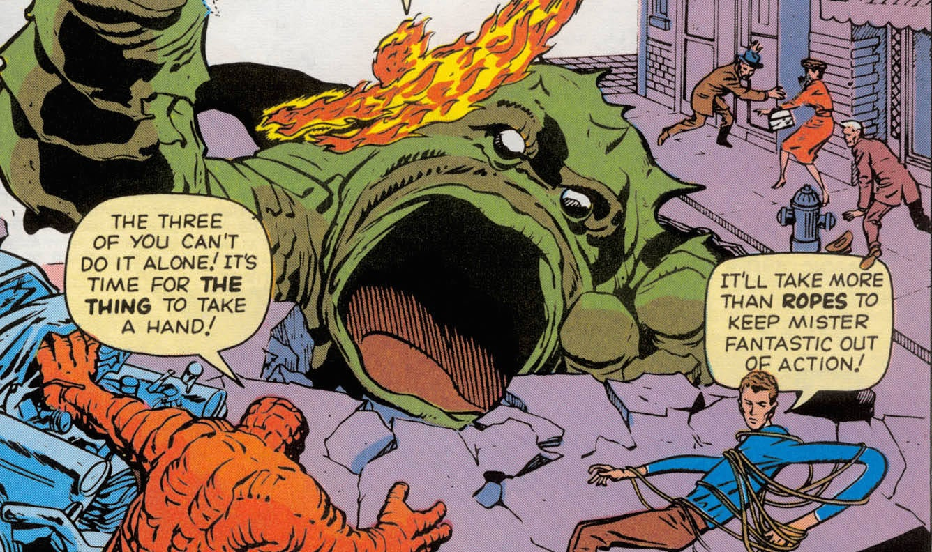 Fantastic Four at 55: Talking With Sequart's Richard Bensam
