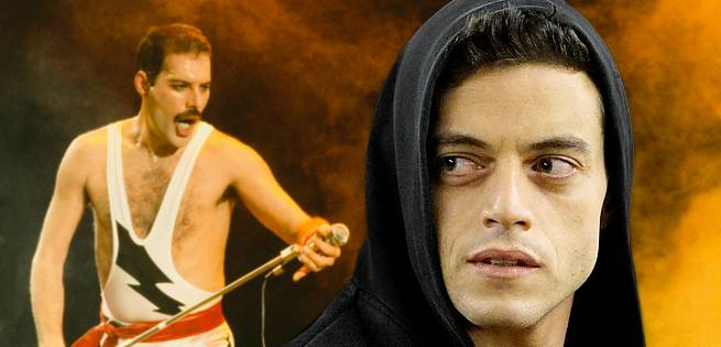 Freddie Mercury Rami Malek Biopic