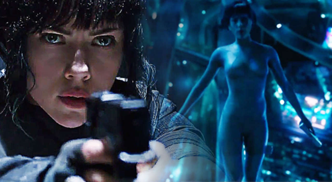 Ghost In The Shell Scarlett Johansson Responds To Film S White Washing Controversy