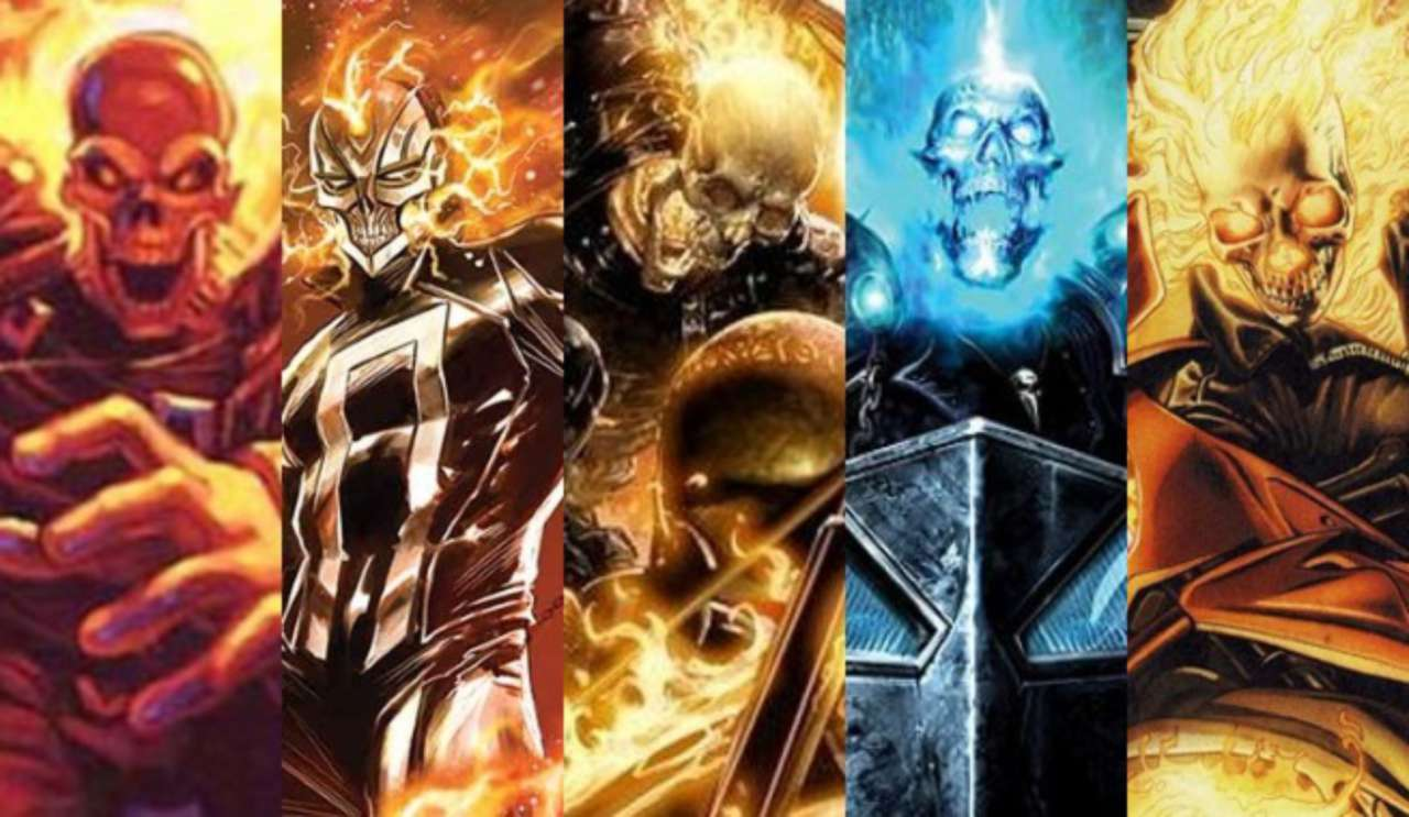 Every Ghost Rider in the Marvel Universe Ranked