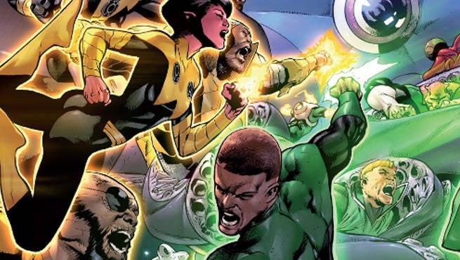 Green Lantern 9 Header