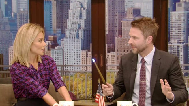 Chris Hardwick Talks Meeting J.K. Rowling And Star Wars Wedding On Live With Kelly
