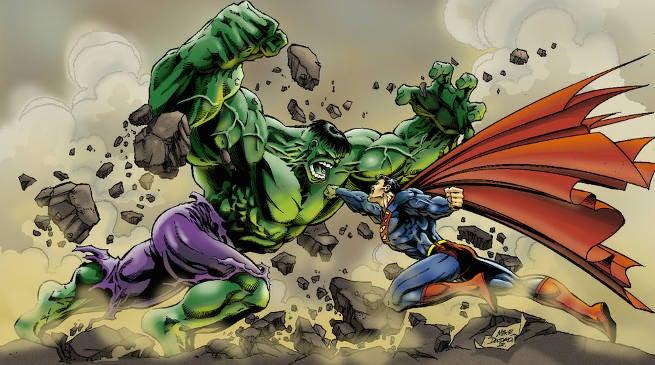 Hulk Fights Superman in Fan-Made Movie Trailer