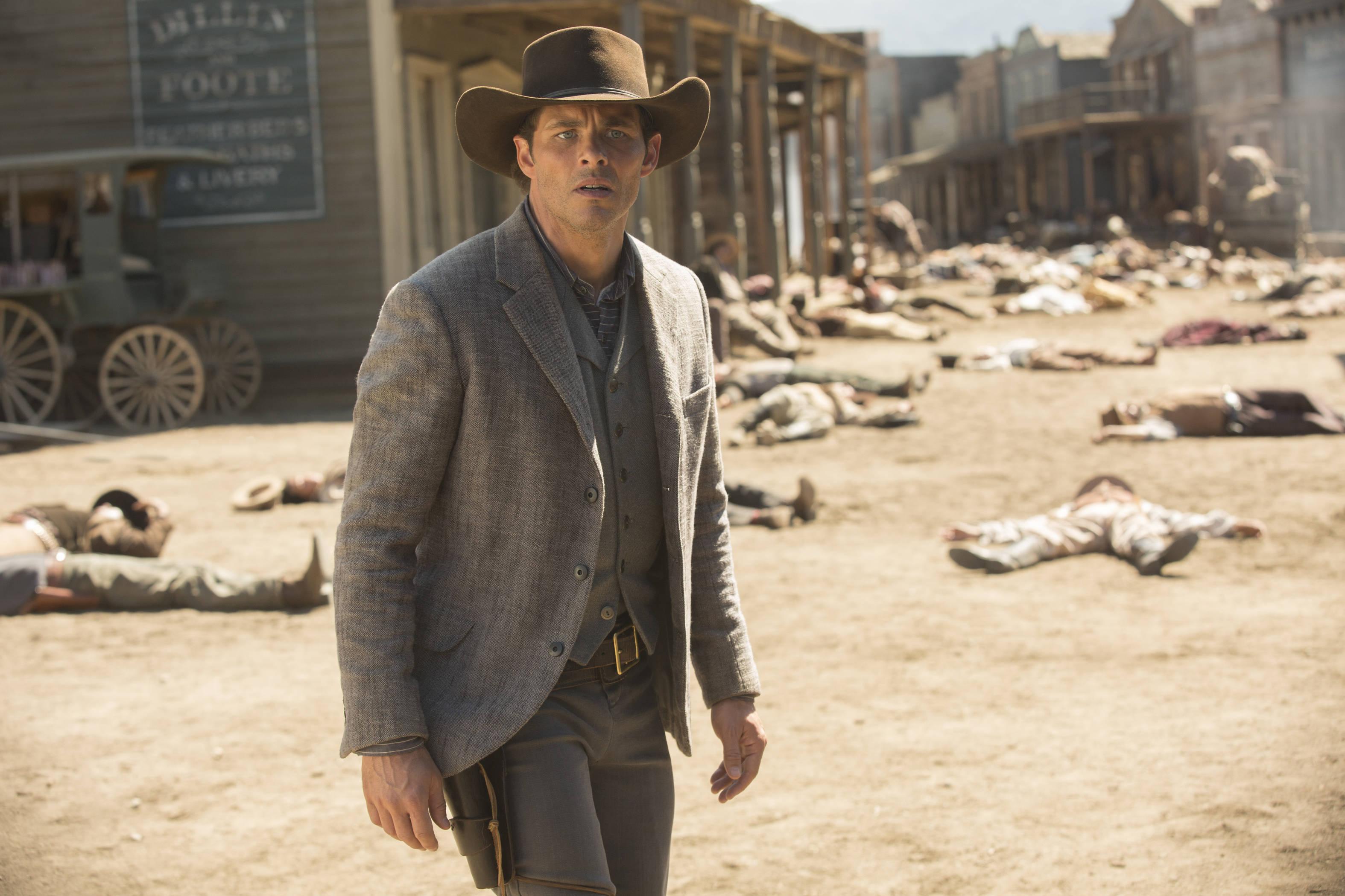 James Marsden as Teddy - credit John P Johnson HBO