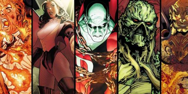 Justice League Dark and Dark Universe Connections