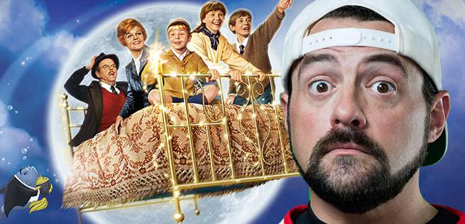 Kevin Smith Wants To Do A Bedknobs And Broomsticks Remake