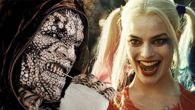Suicide Squad Deleted Scene: Killer Croc Explains Why He Won't Eat Harley Quinn
