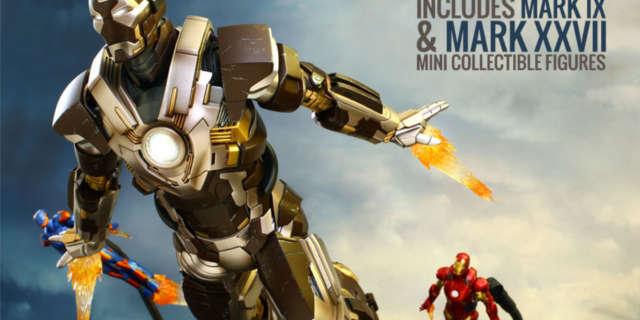 Marvel Iron Man Mark XXIV Hot Toys Featuer 2016