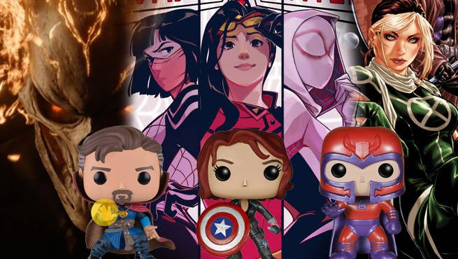 Marvel POP Header