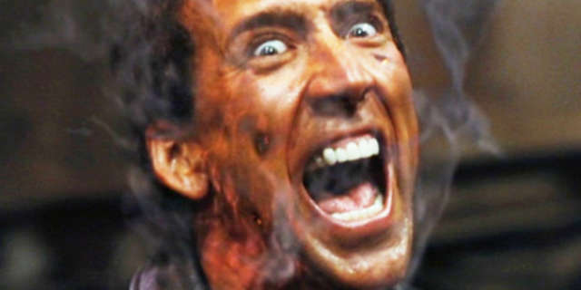 """Nicolas Cage Sings """"Purple Rain"""" at Karaoke Bar After Split From Wife of Four Days"""
