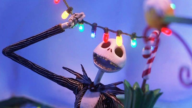 Nightmare Before Christmas Jack Skellington in Christmas Town