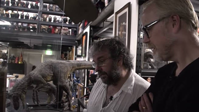 Peter Jackson Has A Jawdropping Movie Prop Collection