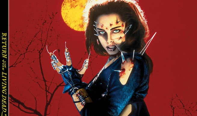 """Exclusive Vestron Video Clip: Return of the Living Dead 3 Filmmakers Ask """"Why Brains?"""""""
