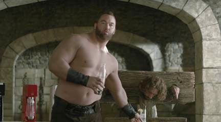 Game of Thrones' The Mountain Featured In 'Shameful' SodaStream Ad