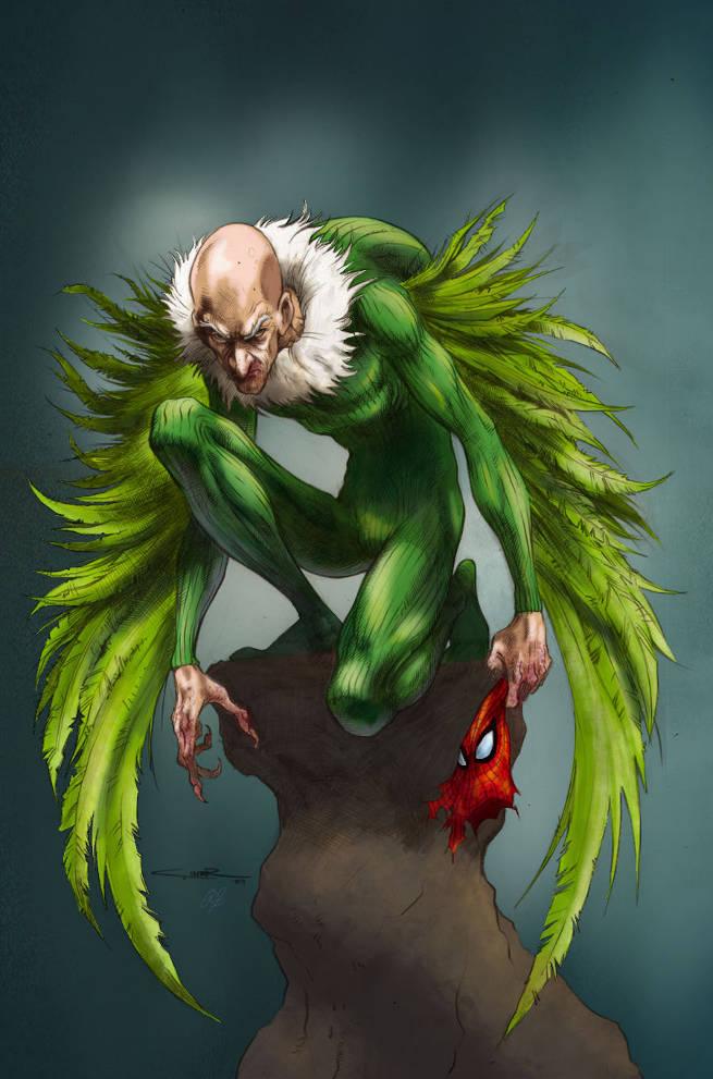 Spider-Man The Vulture Costume Classicby robbdaman @ DeviantART