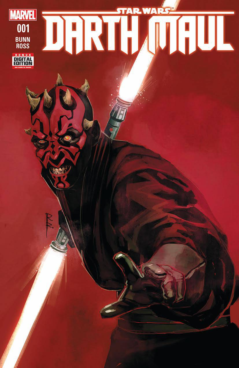 Star Wars Darth Maul Prequel Comic