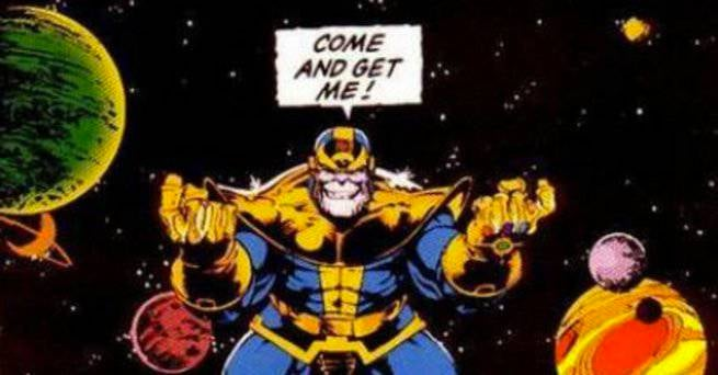 Thanos - Infinity Gauntlet