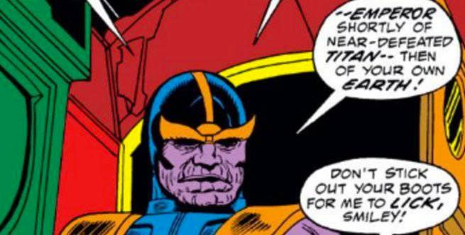 Thanos - Iron Man 55