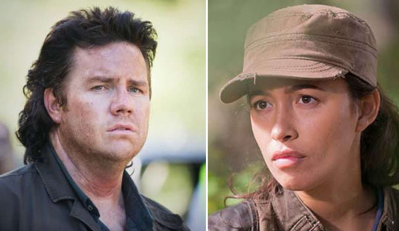The Walking Dead Christian Serratos On Potential Rosita And